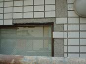 外壁の剥がれ