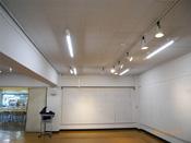 展示室改修工事